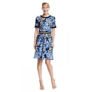 Draper James Persley Ponte Bellamy Floral Dress